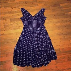 Stretch Polkadot Dress